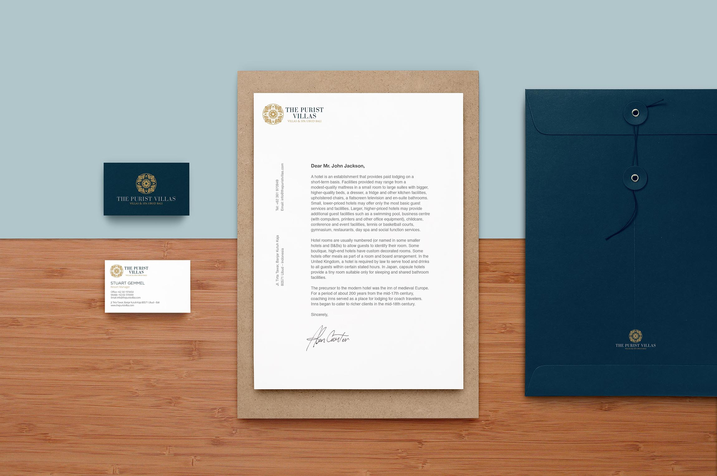 The Purist villas<h5>Branding / Print<h5>