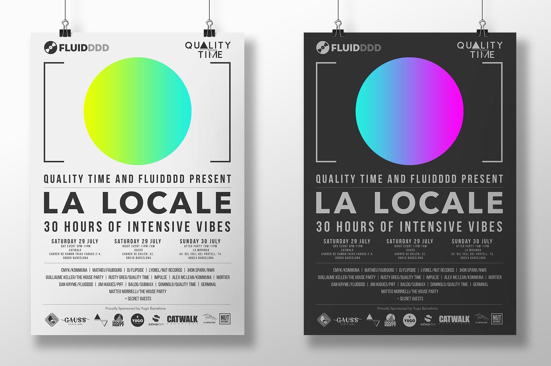 La Locale<h5>– Graphic design / Print design<h5>